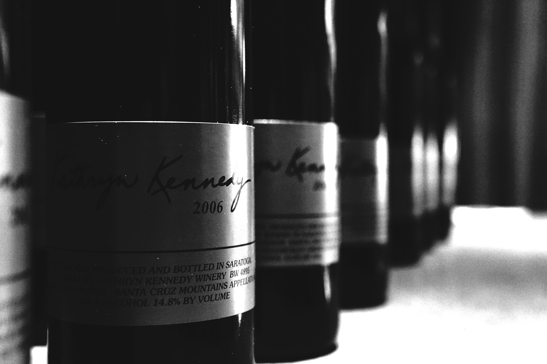 Image of Estate Cabernet at Kathryn Kennedy Winery